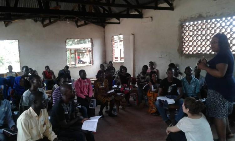 Tjeko academy Jinja Oeganda