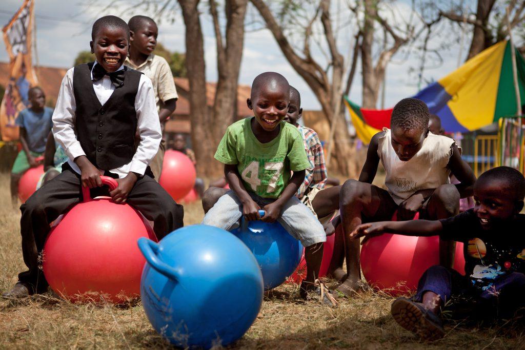 tjeko skippybal fun fair uganda