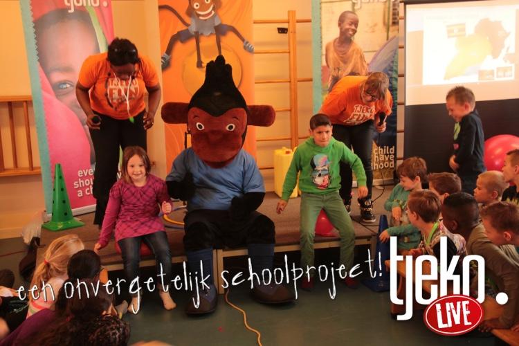 Tjeko live actie basisschool