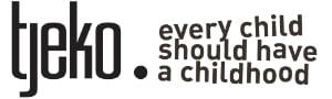 Tjeko logo met slogan