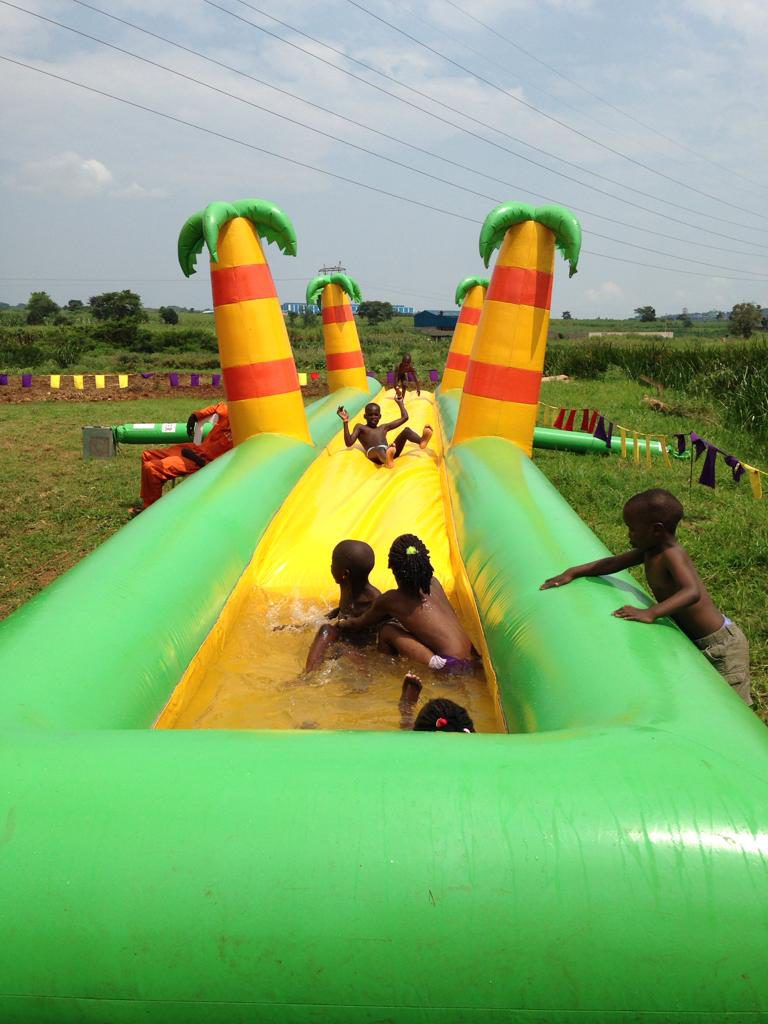 Tjeko Jinja Uganda Water slide rental