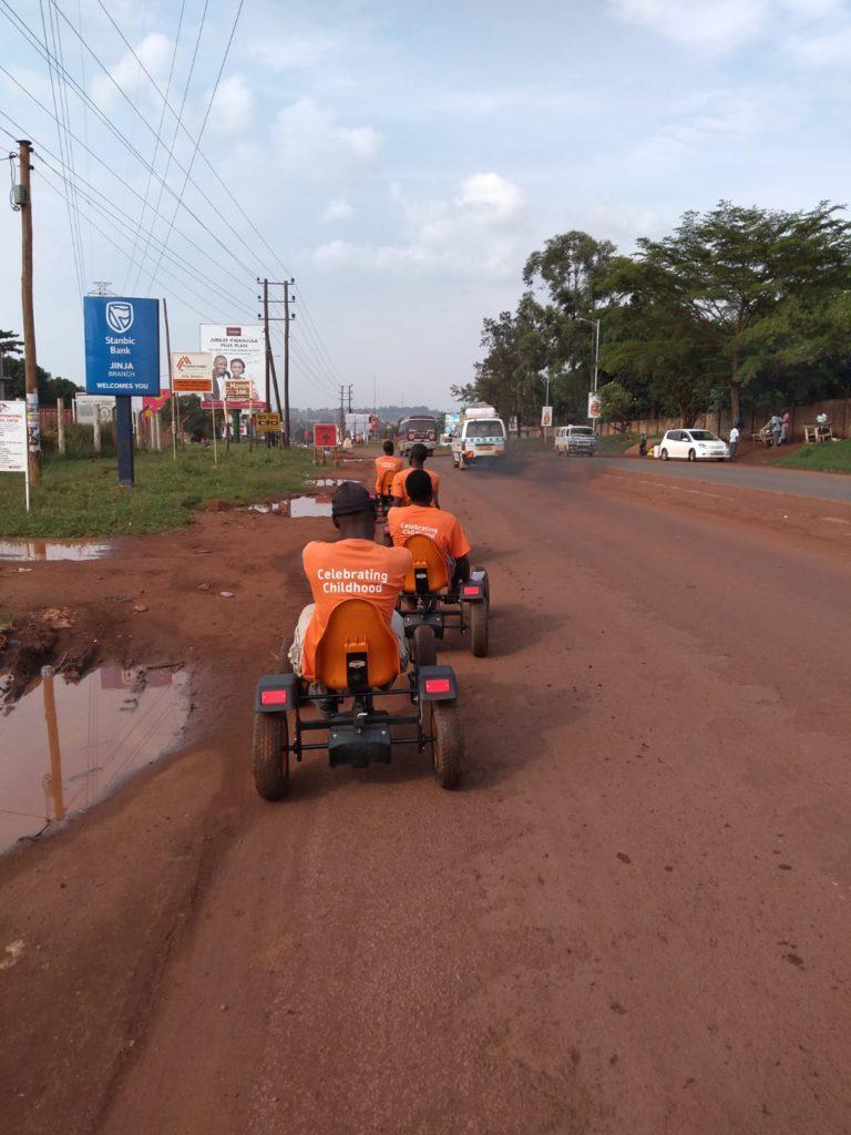 Tjeko Jinja Uganda skelter
