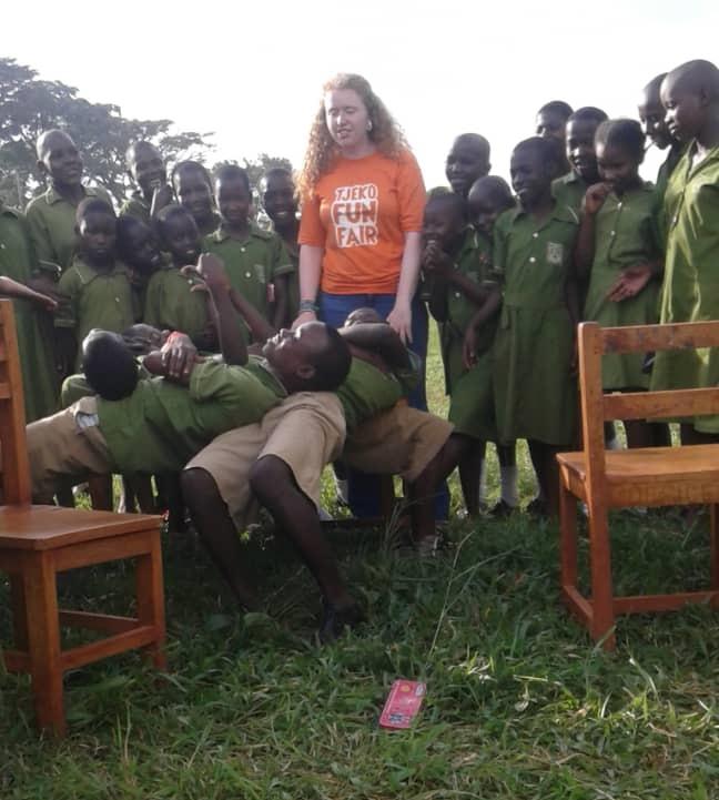 Tjeko live school lesson 2 jinja uganda