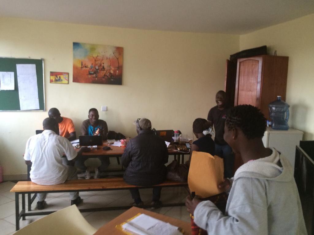 tjeko team jinja uganda meeting