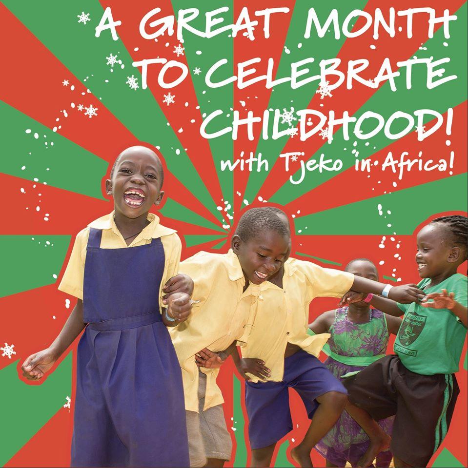 Tjeko december celebrate help mee