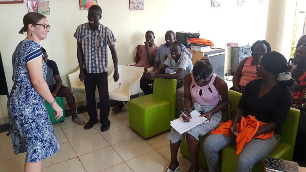 tjeko speltherapeut workshop uganda jinja team