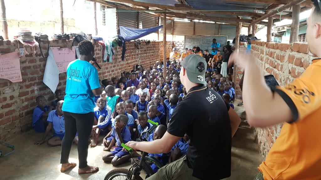 Tjeko live 12gobiking uganda
