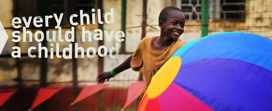 Tjeko every child should have a childhood Uganda Africa