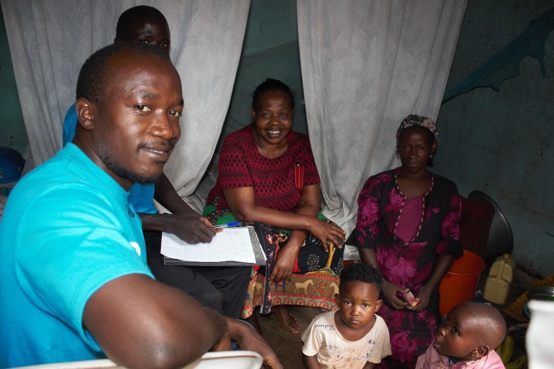Alban Tjeko Uganda COVID19 Actie