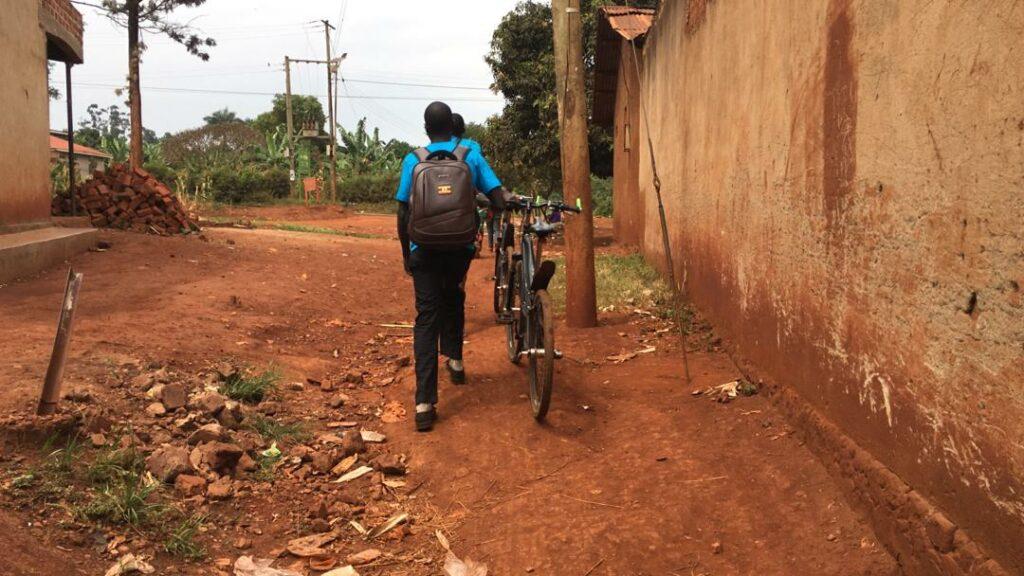tjeko uganda bike covid19 family support